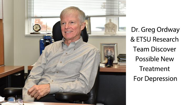 ETSU Research Team Discovers Possible New Treatment for Depression