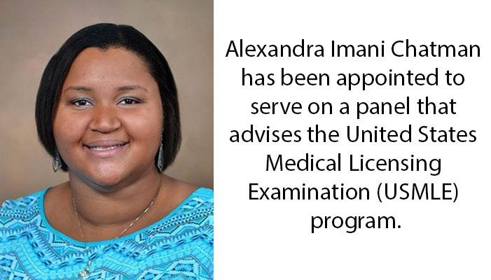 Quillen Student Appointed to National Advisory Panel for USMLE Program