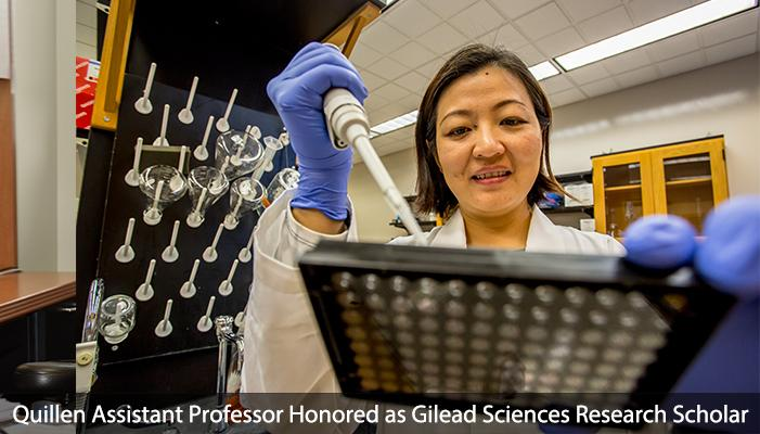 Dr. Quan Xie received funding for her research related to liver disease