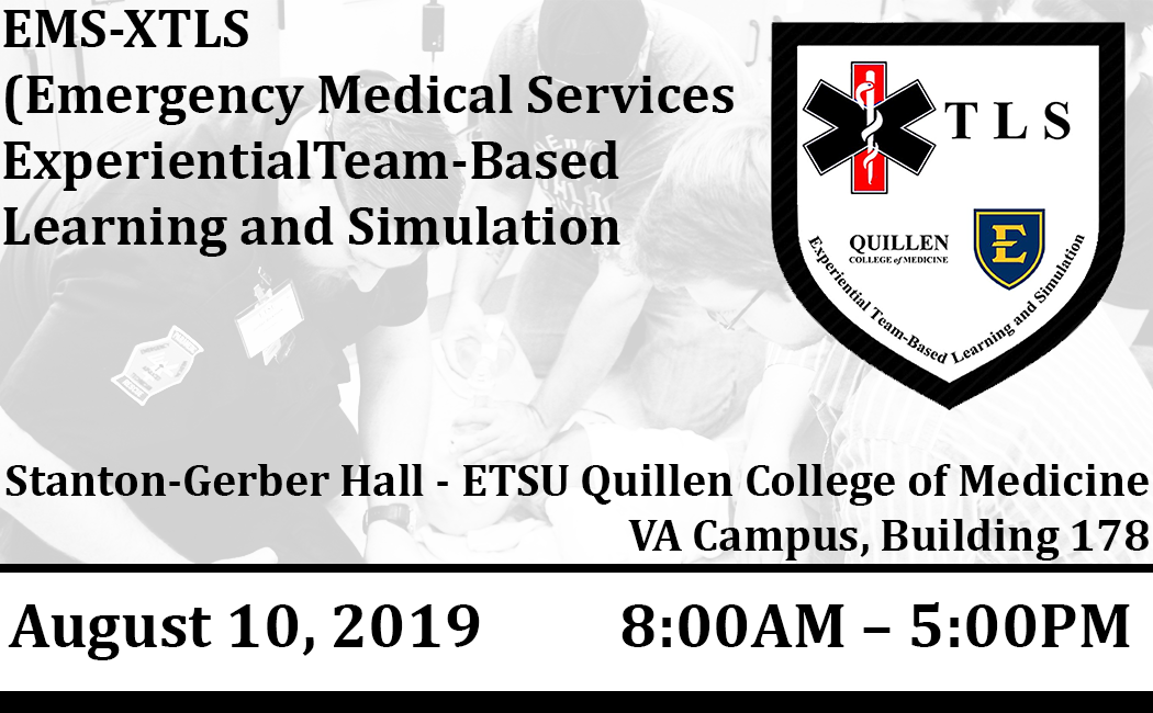 EMS-XTLS (Emergency Medical Services Experiential Team-Based Learning and Simulation