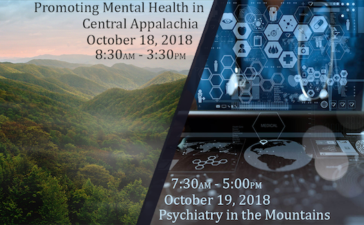 Promoting Mental Health in Central Appalachia & Psychiatry in the Mountains