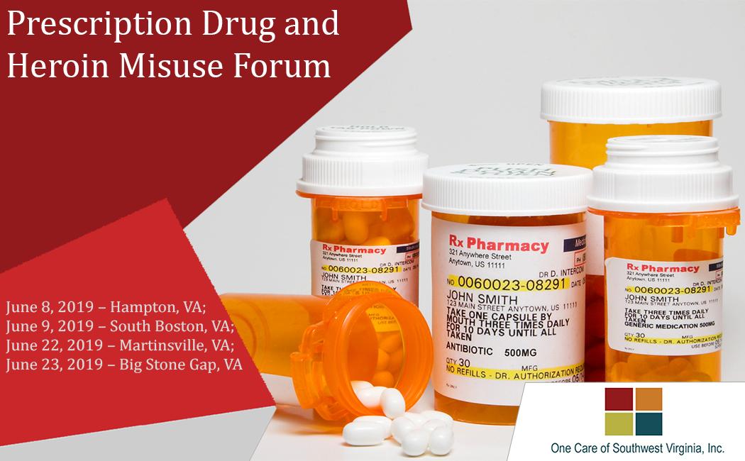 Prescription Drug and Heroin Misuse Forum
