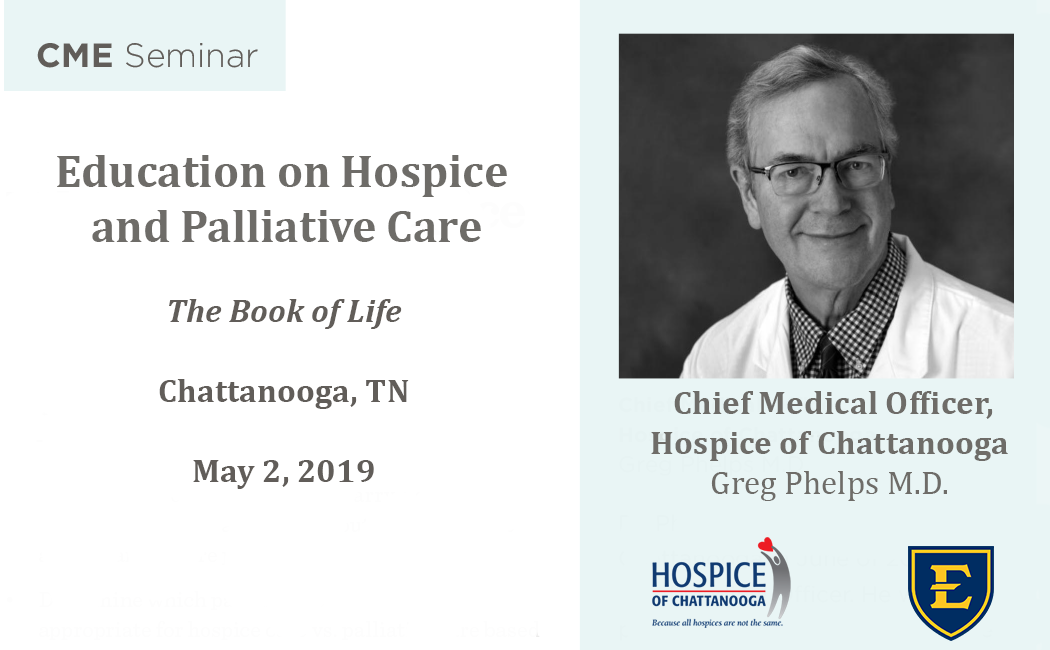 Education on Hospice and Palliative Care: The Book of Life