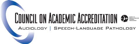 the Council on Academic Accrediation in Audiology and Speech-Language Pathology of the American Speech-Language Hearing Association