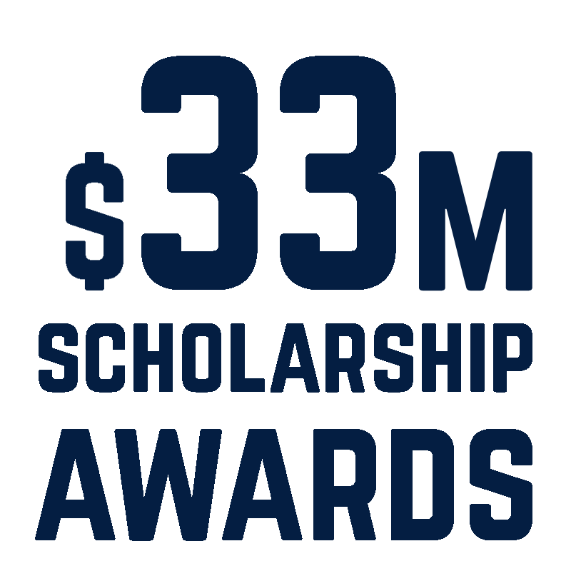 33K Scholarships Awarded