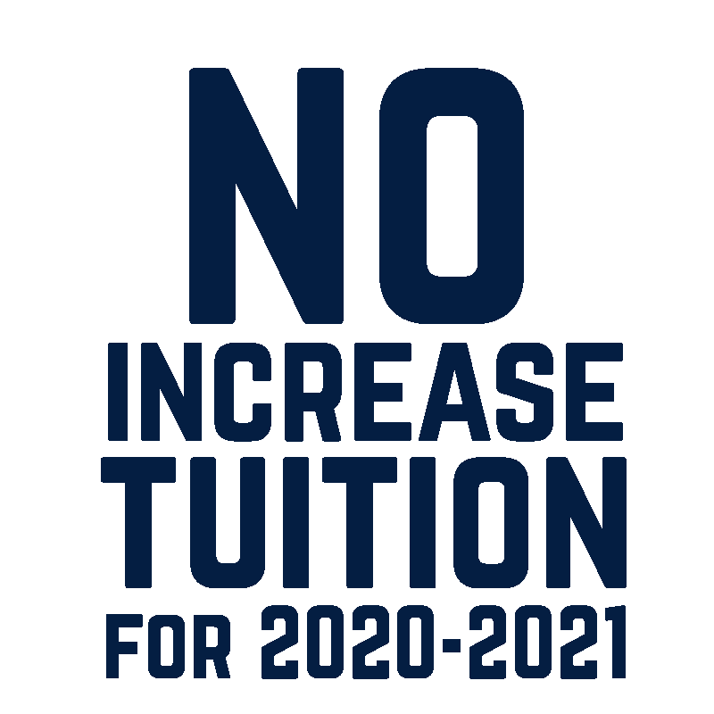 No Increase in Tuition