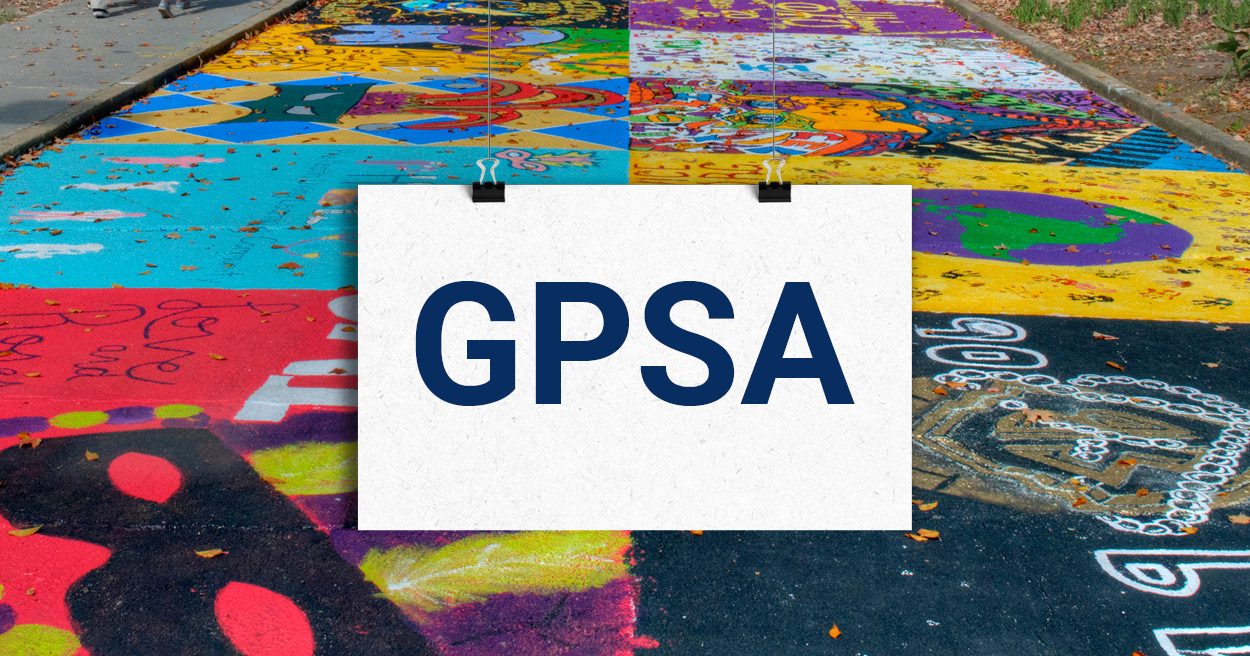 decorative image for Graduate and Professional Student Association