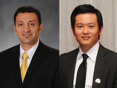 Dr. Alamian and Dr. Wang
