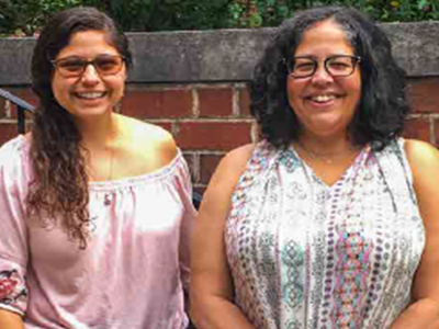 Dr. Maisonet and Denise Chavez