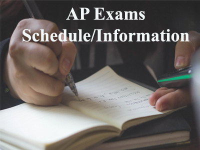 AP Exam Schedule and Information