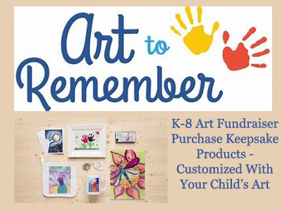 K-8 Art Fundraiser - Art to Remember