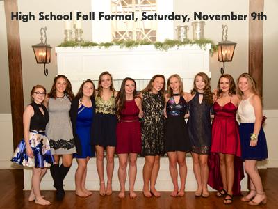High School Fall Formal