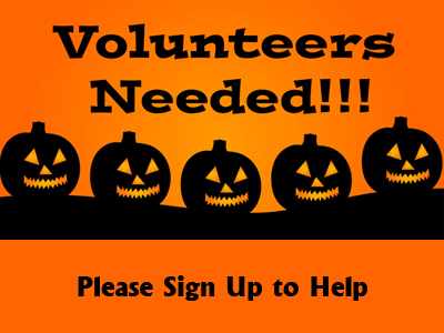 Volunteers and Items Needed for Fall Festival