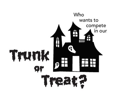 Participants Needed for Trunk or Treat