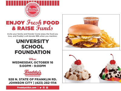 Freddy's Fundraiser - Family Engagement Night