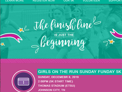 Girls on the Run 5K - Sunday Funday - December 8th
