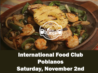 International Food Club - Poblanos