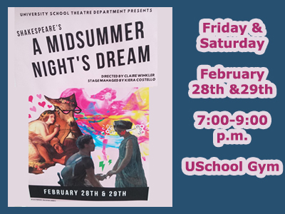 A Midsummer Night's Dream Production