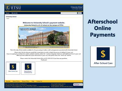Online Payments Accepted for Afterschool Care