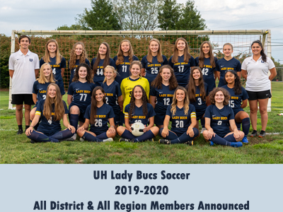Lady Bucs Soccer All District and All Region Members Announced