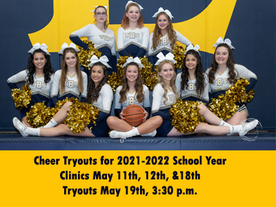 Cheer Tryouts for 2021-2022 School Year