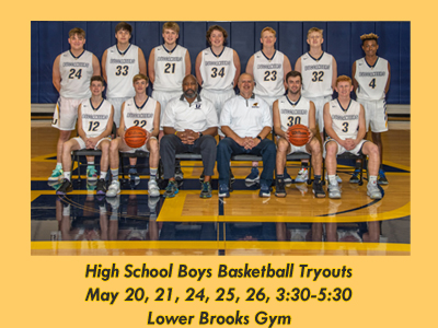 High School Boys Basketball Tryouts