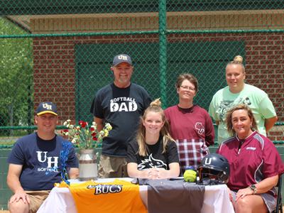 Emily Morgan Signs to Play Softball at Cumberland University