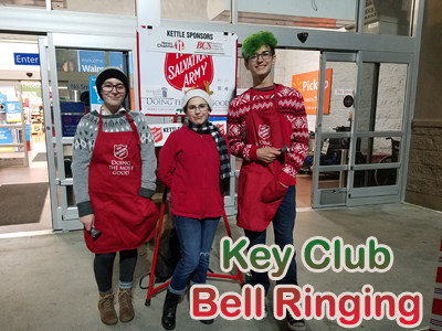 Key Club Bell Ringing